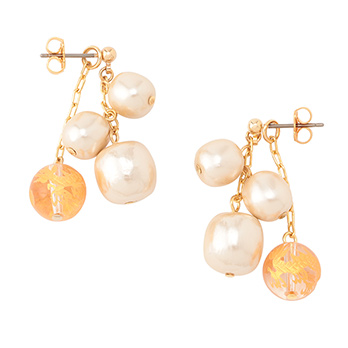 DRAGON PEARL EARRINGS イヤリング