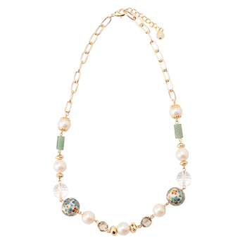 CLOISONNE NECKLACE ネックレス 詳細画像