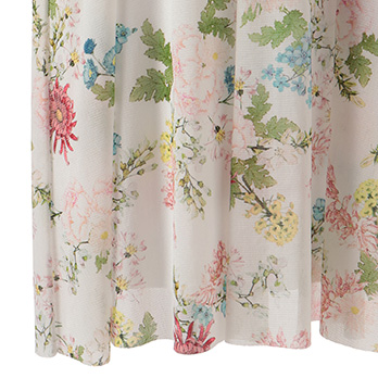 SPRING PEONY BLOOM STRETCH NET ワンピース 詳細画像